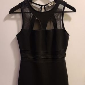 🤟2 for $20🤟-Mesh cut out body con dress